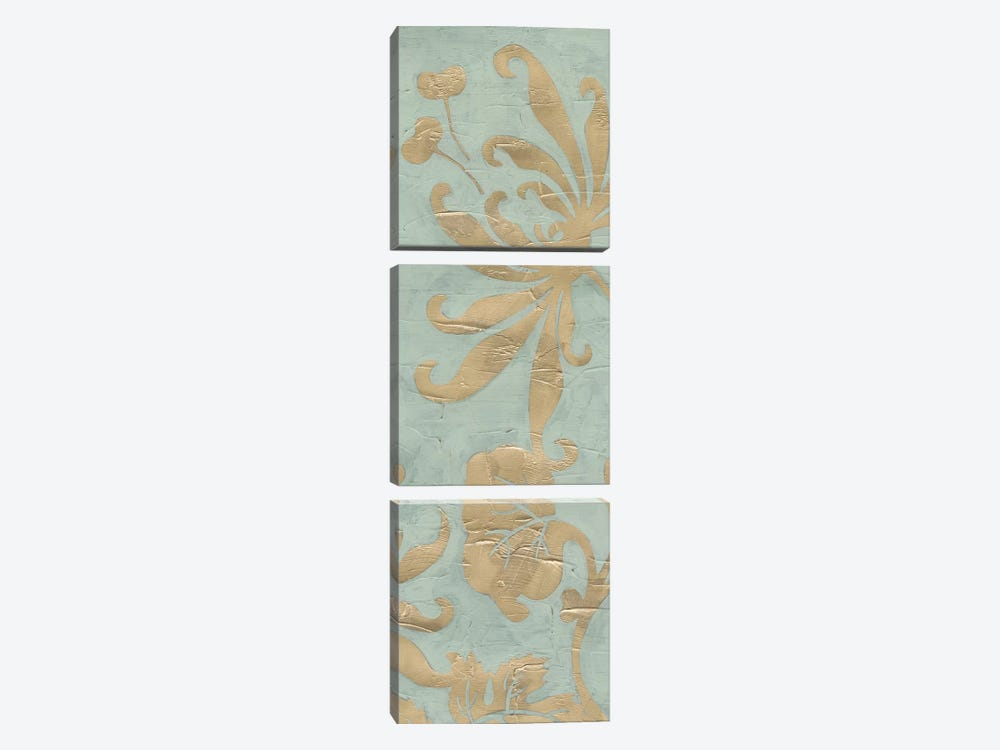 Graceful Garden Triptych II by June Erica Vess 3-piece Canvas Art