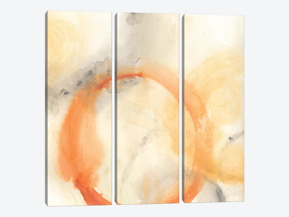 Implicit I by June Erica Vess 3-piece Canvas Wall Art