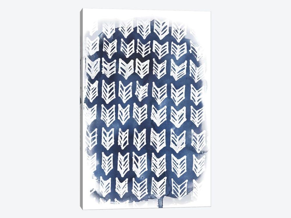 Indigo Batik Vignette IV by June Erica Vess 1-piece Art Print