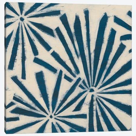 Indigo Signals V 3-Piece Canvas #JEV935} by June Erica Vess Art Print