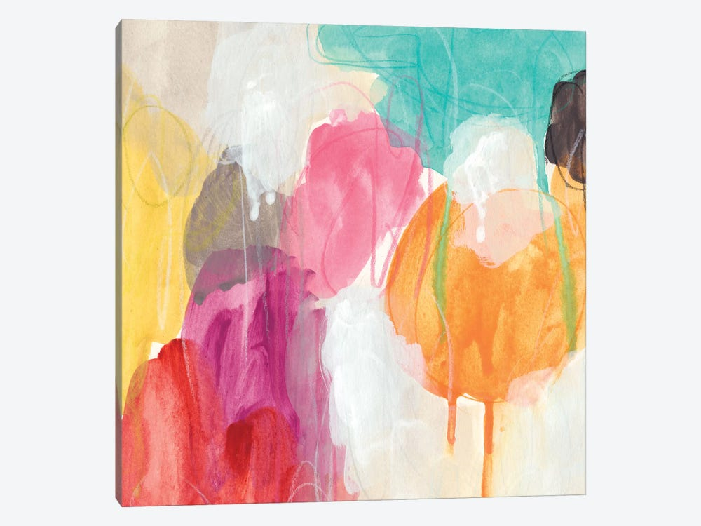 Ipso Facto I by June Erica Vess 1-piece Canvas Art