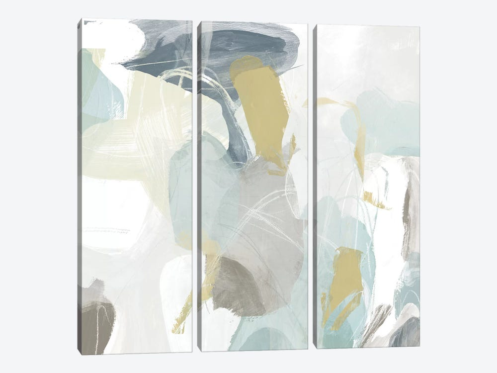 Mint Illusion III by June Erica Vess 3-piece Canvas Art