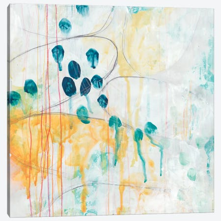Momentum I Canvas Print #JEV953} by June Erica Vess Canvas Art