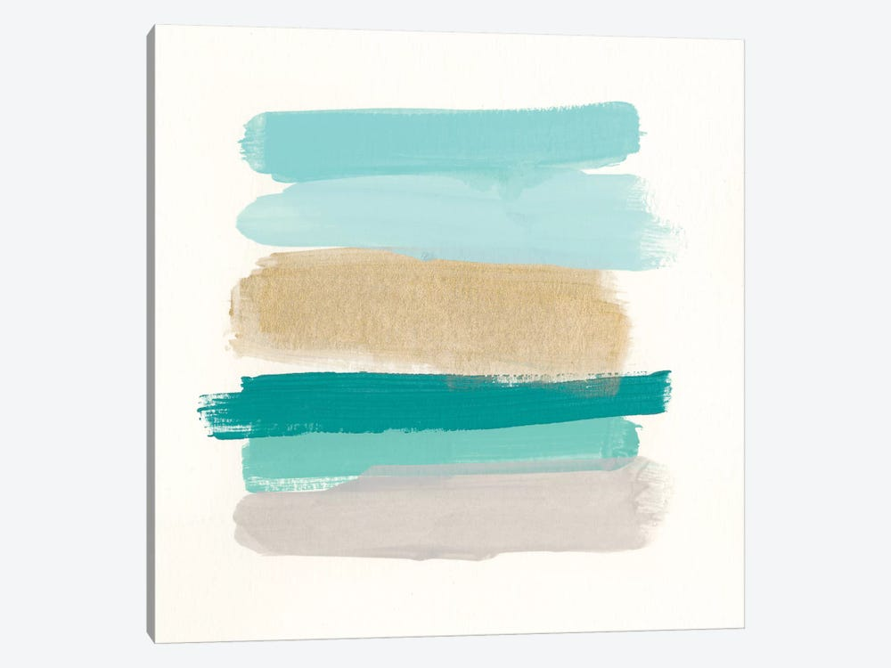 Palette Stack I by June Erica Vess 1-piece Canvas Wall Art