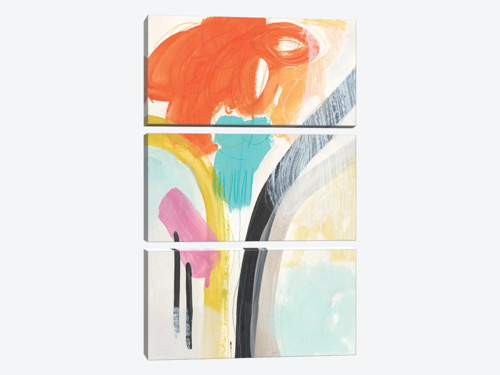 Rhythm Variations II by June Erica Vess 3-piece Canvas Art
