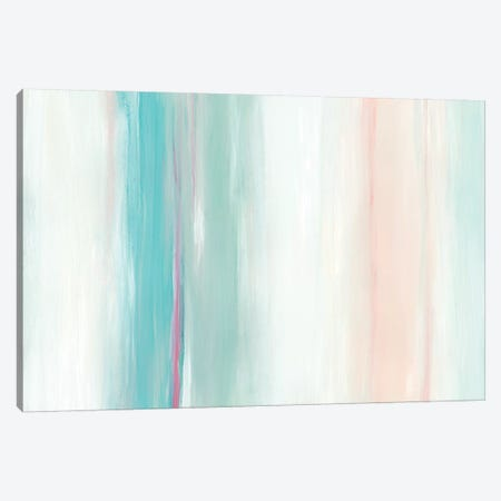 Seafoam Spectrum I Canvas Print #JEV965} by June Erica Vess Canvas Art