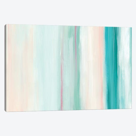 Seafoam Spectrum II Canvas Print #JEV966} by June Erica Vess Canvas Artwork