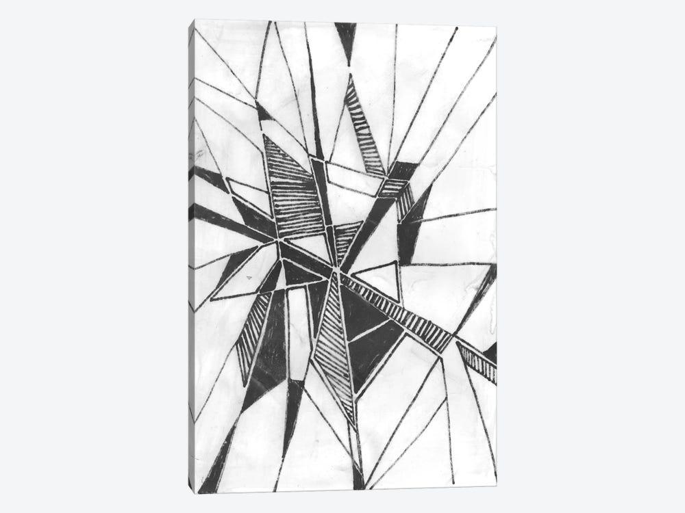 Symbol Imprint II by June Erica Vess 1-piece Canvas Wall Art