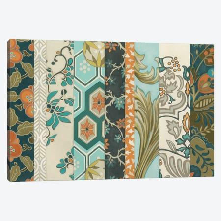 Textile Strata I Canvas Print #JEV971} by June Erica Vess Canvas Art