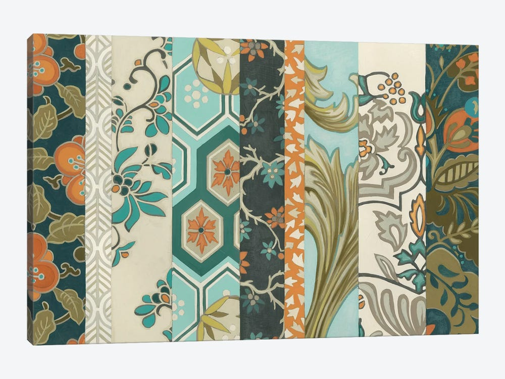Textile Strata I by June Erica Vess 1-piece Canvas Wall Art