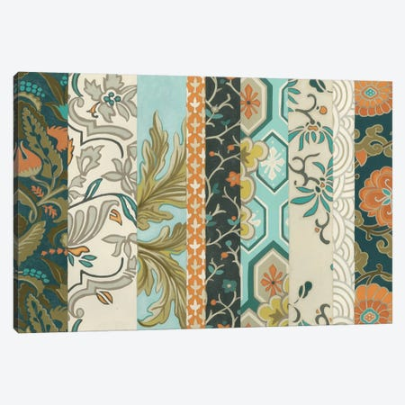 Textile Strata II 3-Piece Canvas #JEV972} by June Erica Vess Canvas Art