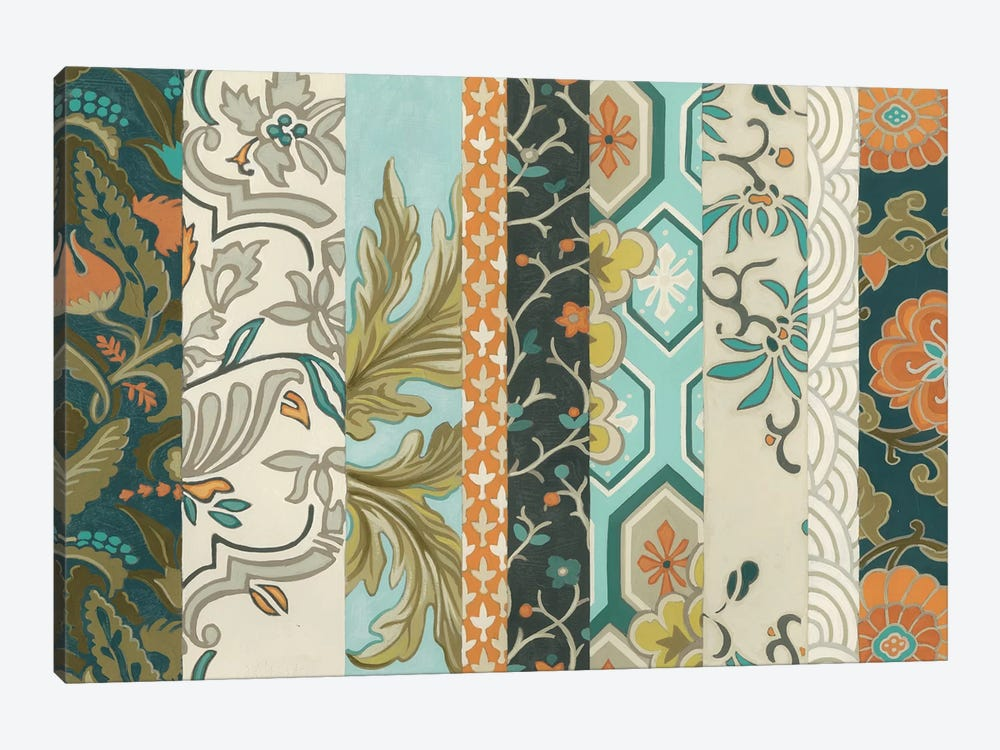 Textile Strata II by June Erica Vess 1-piece Art Print
