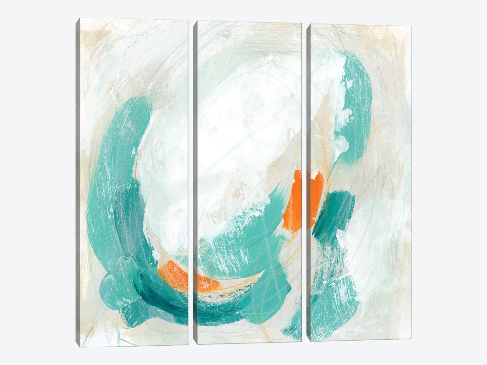 Tidal Current I by June Erica Vess 3-piece Canvas Artwork