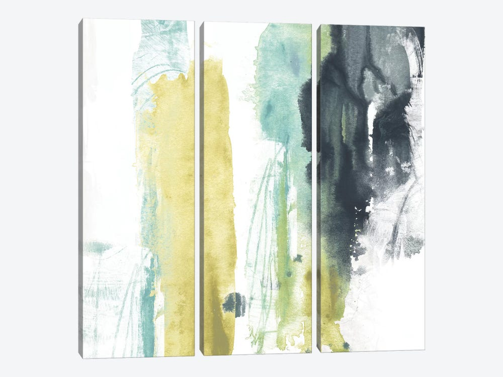 Vertical Split I by June Erica Vess 3-piece Canvas Art Print