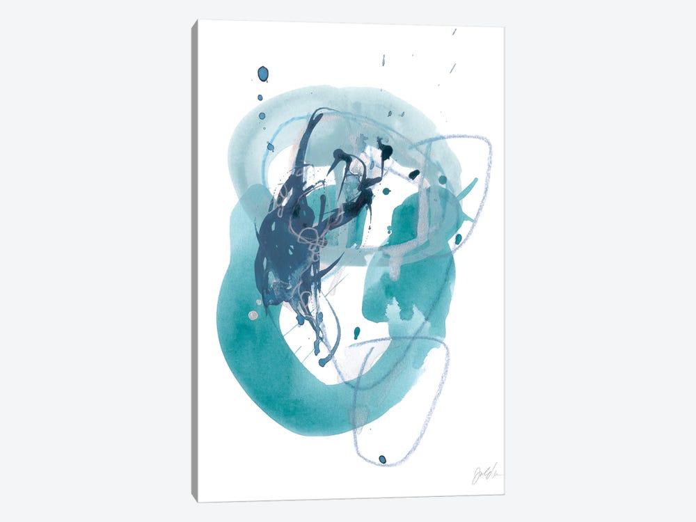 Aqua Orbit IV by June Erica Vess 1-piece Art Print
