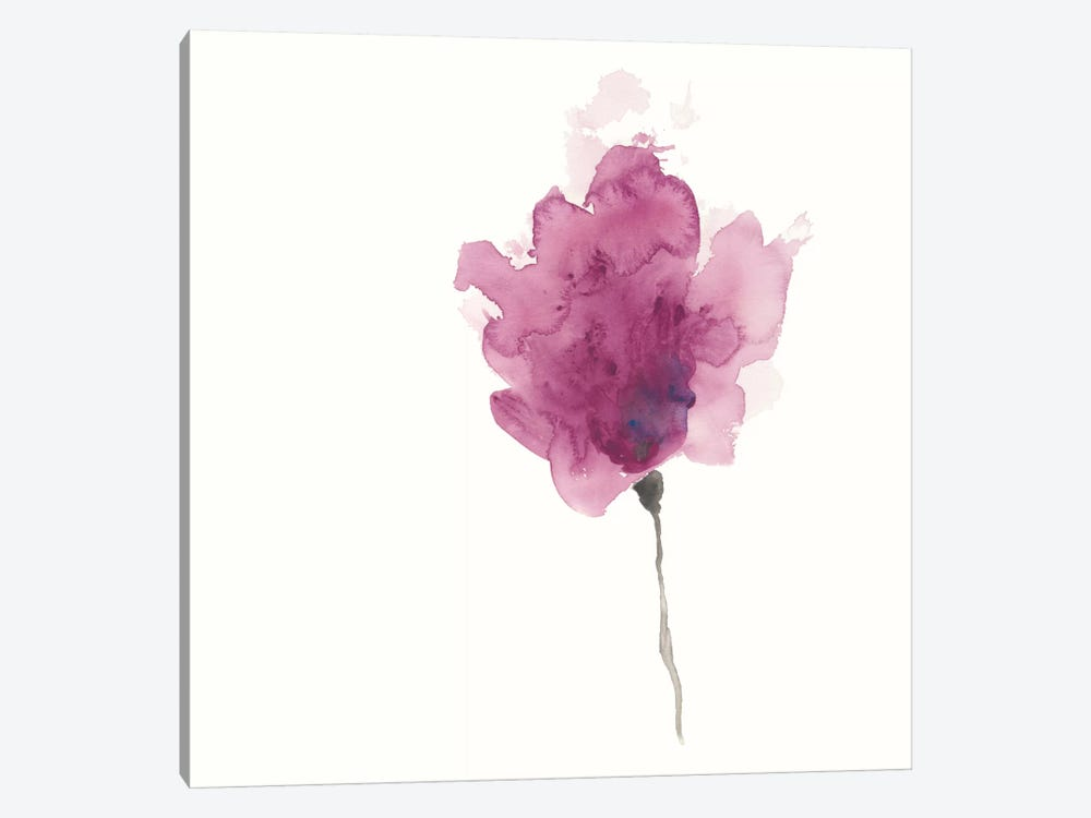 Expressive Blooms I by June Erica Vess 1-piece Canvas Art