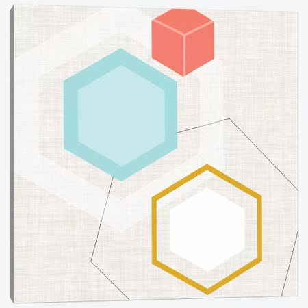 Mod Geometry I Canvas Print #JFA20} by Jarman Fagalde Canvas Art Print