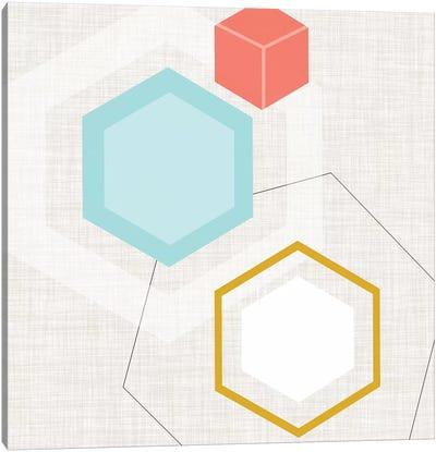 Mod Geometry I Canvas Art Print