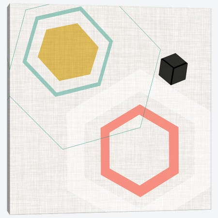 Mod Geometry II Canvas Print #JFA21} by Jarman Fagalde Canvas Print