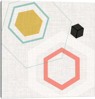 Mod Geometry II Canvas Art Print
