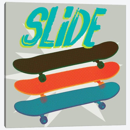 Sk8R II Canvas Print #JFA27} by Jarman Fagalde Canvas Wall Art