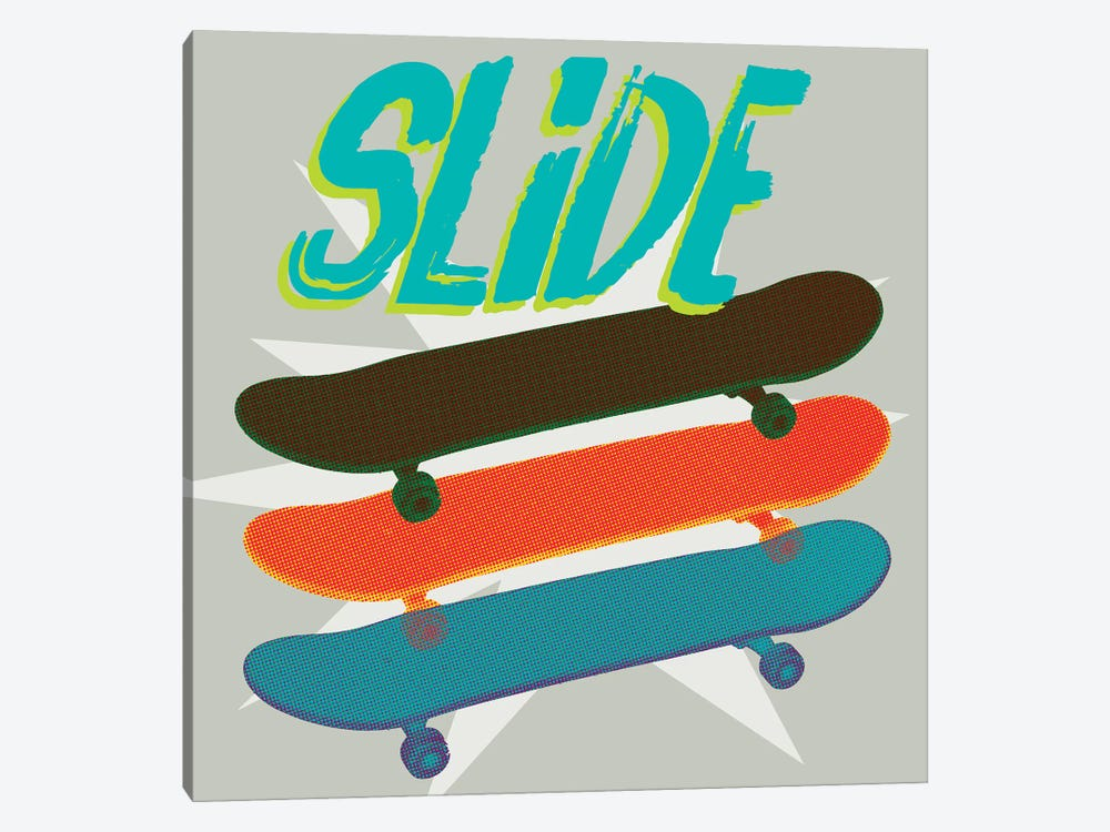 Sk8R II by Jarman Fagalde 1-piece Canvas Art Print