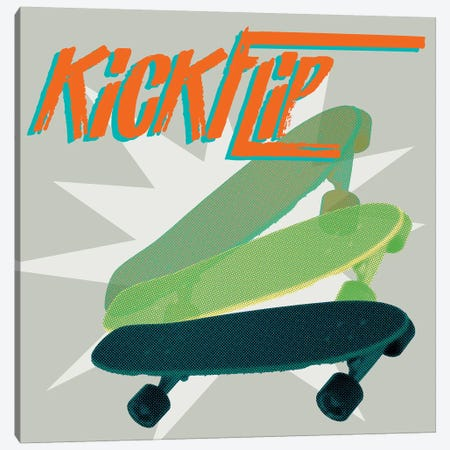 Sk8R III Canvas Print #JFA28} by Jarman Fagalde Canvas Art Print