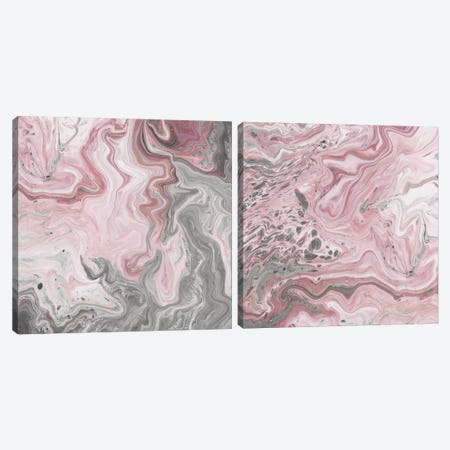 Blush Minerals Diptych Canvas Print Set #JFA2HSET001} by Jarman Fagalde Canvas Print