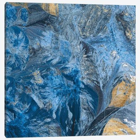Gilded Indigo III Canvas Print #JFA42} by Jarman Fagalde Canvas Print