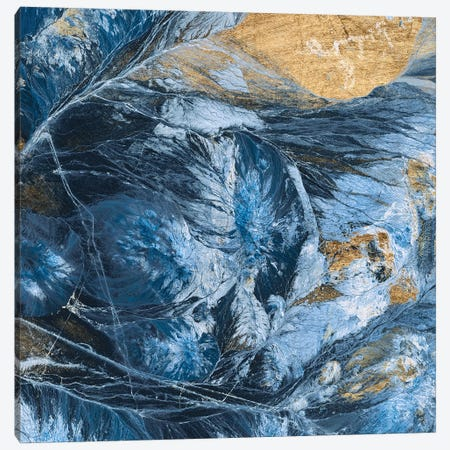 Gilded Indigo IV Canvas Print #JFA43} by Jarman Fagalde Art Print