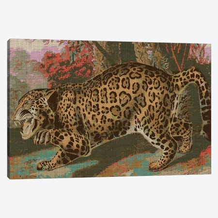 Urban Jungle Cat II Canvas Print #JFA56} by Jarman Fagalde Canvas Art Print