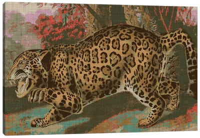 Urban Jungle Cat II Canvas Art Print