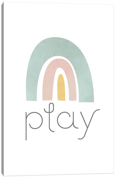 Rainbow Play I Canvas Art Print