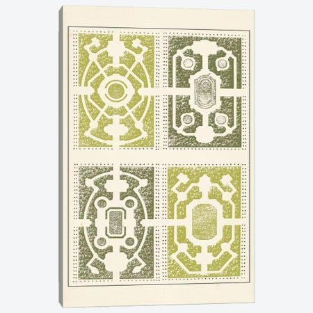 Green Garden Maze II Canvas Print #JFB2} by J.F. Blondel Canvas Art Print