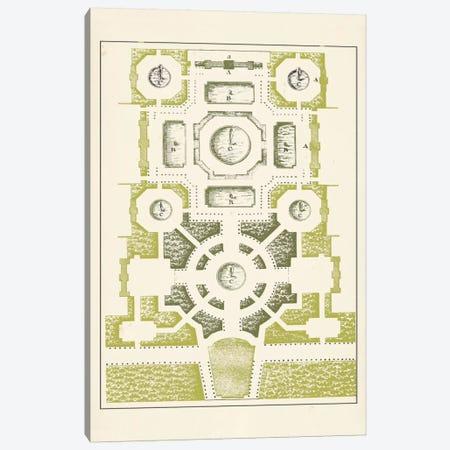 Green Garden Maze III Canvas Print #JFB3} by J.F. Blondel Canvas Print