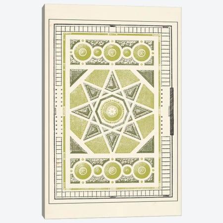 Green Garden Maze VI Canvas Print #JFB6} by J.F. Blondel Canvas Artwork