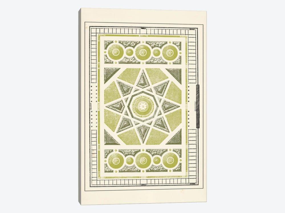Green Garden Maze VI by J.F. Blondel 1-piece Canvas Art
