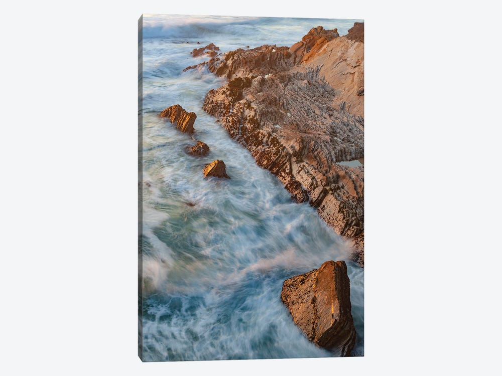 Coastline, Montana de Oro State Park, California by Jeff Foott 1-piece Canvas Print