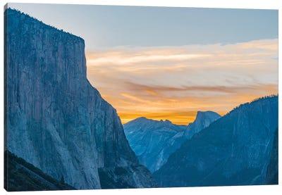 El Capitan and Half Dome, Yosemite National Park, California Canvas Art Print