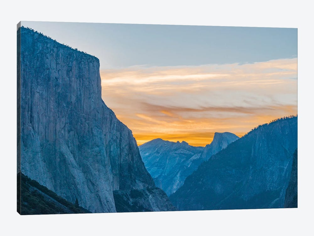 El Capitan and Half Dome, Yosemite National Park, California by Jeff Foott 1-piece Canvas Wall Art