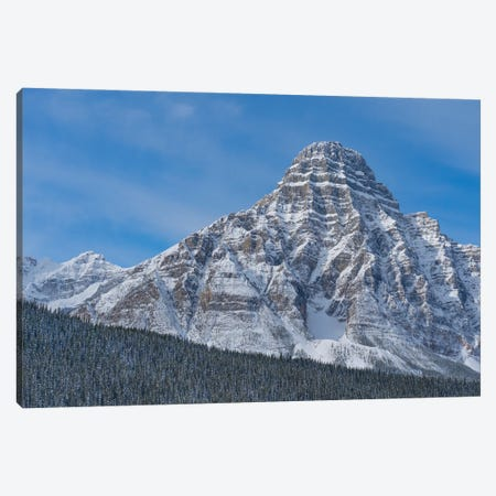 Mount Chephren, Banff National Park, Alberta, Canada Canvas Print #JFF62} by Jeff Foott Canvas Artwork