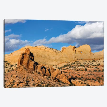 Peek-A-Boo Arch, Grand Staircase-Escalante National Monument, Utah Canvas Print #JFF6} by Jeff Foott Canvas Wall Art