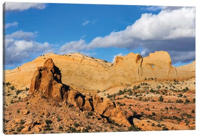 Peek-A-Boo Arch, Grand Staircase-Escalante National Monument, Utah Canvas Art Print
