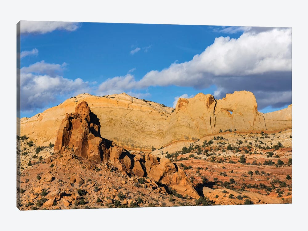 Peek-A-Boo Arch, Grand Staircase-Escalante National Monument, Utah by Jeff Foott 1-piece Canvas Art