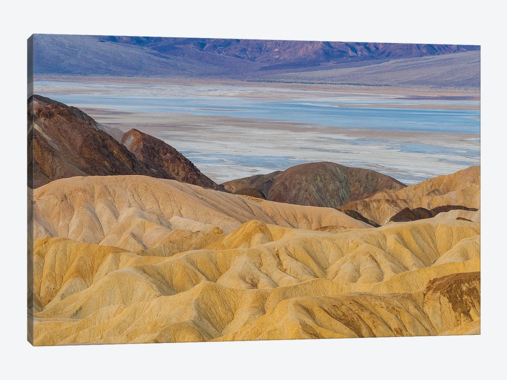 Rock formations, Zabriskie Point, Death Valley National Park, California by Jeff Foott 1-piece Canvas Wall Art
