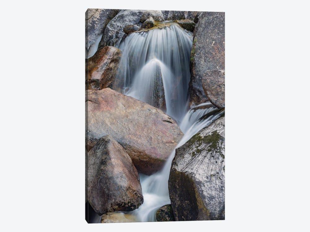 Spring run-off, Cascade Creek, Yosemite National Park, California by Jeff Foott 1-piece Canvas Print