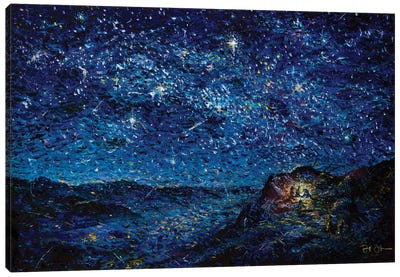 Night of the Nativity Canvas Art Print