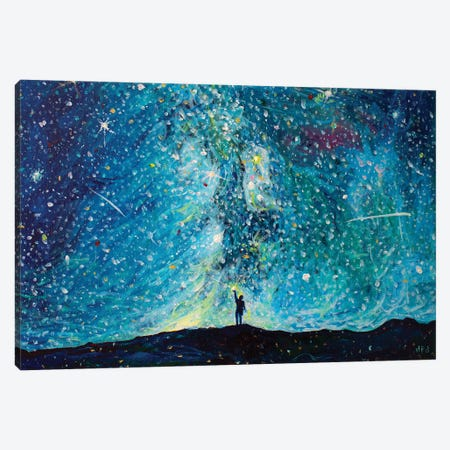Unlocking the Sky Canvas Print #JFJ17} by Jeff Johnson Canvas Artwork