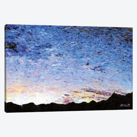 Western Blues Canvas Print #JFJ18} by Jeff Johnson Canvas Print