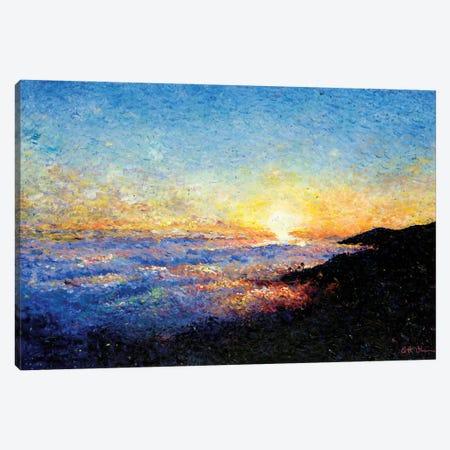 Above the Clouds of Malibu Canvas Print #JFJ1} by Jeff Johnson Art Print